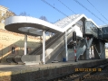 Przebudowa dworca kolejowego w Szczecinie - Budowa kładki nad torami